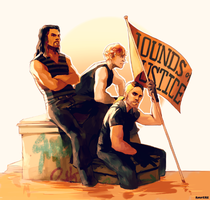 WWE: The Shield by student-yuuto