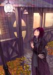 girl in rain by Masway