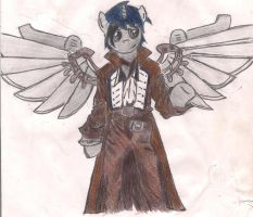 Steam Suit (Scanned) by RayFriedh