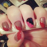 Valentines Nails by Wingreader