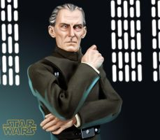 Grand Moff Tarkin by ashasylum