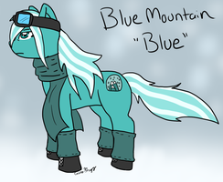 Blue Mountain by The-Smile-Giver