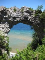 Arch Rock by lack-of-color