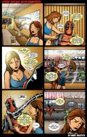 Speed Dating with Deadpool by Vulture34