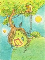 One of the trees - Adelaida by childrensillustrator
