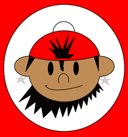 Numbuh 53 Head Logo by Flame-dragon