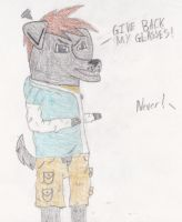 Arger's Glasses Theif by gpfml