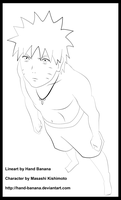Look to the Sky Naruto Lineart by Hand-Banana