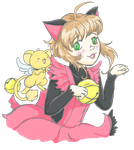 meow meow ~ Feliz cumple ~Flxrence! by KidCoca