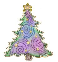 Holiday Tree by Spiralpathdesigns