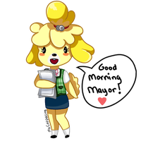 Isabelle - Good Morning Mayor by MsCappuccino