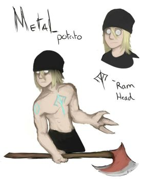 Metal potato!  by ShikiCreations