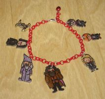 Kawaii Harry Potter charm bracelet by Lovelyruthie