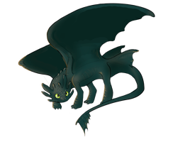 Toothless by newt7111