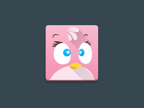 Angry Birds Stella Icon by tari7