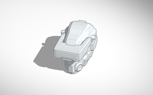 Halo 4 Scanner Helmet Cad file by charizardag