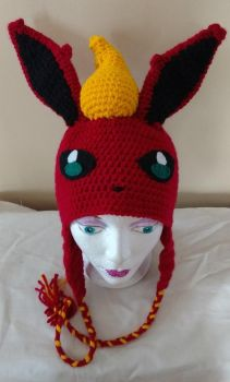 Flareon beanie hat by Sasophie