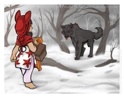 Little Red Riding Hood by katsu