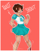 Jane Crocker- Twist and shout by Omnomnom-Monster