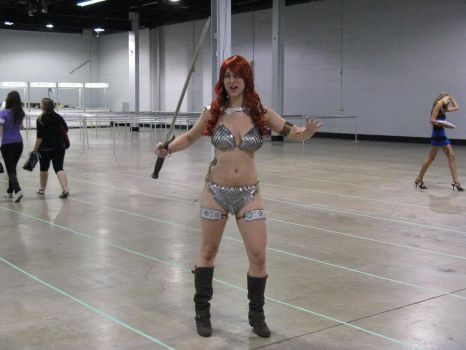 Red Sonja 1 - Comic-Con Chicago 2012 by ShadowRoadz