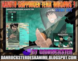 Might Guy Theme Windows 7 by Danrockster