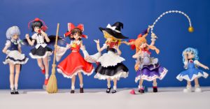 Touhou Figmas Complete! by phtoygraphy