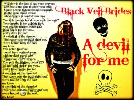 Black Veil Brides A Devil For Me by themexicandragoness