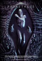 Prometheus movie poster 2 by S-I-N-E-D