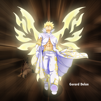 Zeref with fairy heart power by gerard delon by gerard-delon