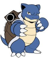 009 Blastoise by Guillo-Carregha