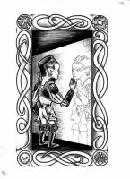 Goblin Tarot - The Mirror by vulpinoid