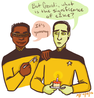 The Significance of Cake by KellyDawn