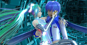 Miku and Kaito Append by chocosunday