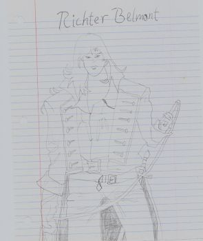 Symphony of the Night - Richter Belmont by MariovsSonic2008