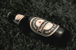 heineken bottle by jordansart