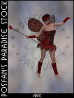 LadyBug Faerie 014 by poserfan-stock