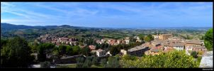 View on the tuscany by marschall196