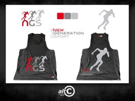 Ngs Race Shirt by ALTERNATIVE-CREATION