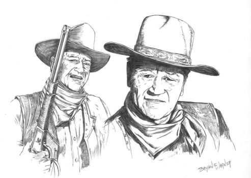 John Wayne of course... by NickDean