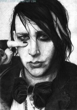 Marilyn Manson by PopKIllerOK
