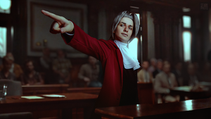 Miles Edgeworth cosplay [2/13] by Jehan-Lavellan