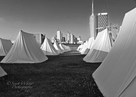Tent City by 1shotaway