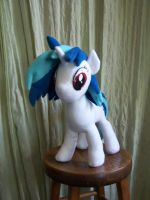 Vinyl Scratch Done~Front View by WhiteAntCrawls