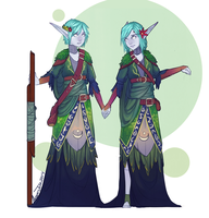Edune Twins outfit by AvannTeth