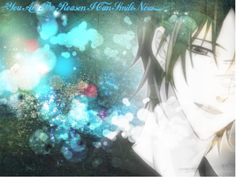 ~And Thats Why I Smile~ (Ren Wallpaper) by XxRedxVioletxRosexX