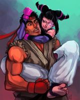 Juri and Ryu by ArtofCelle