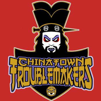 Chinatown Troublemakers logo by TKrohne13
