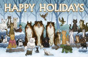 Vet Holiday Card 2012 by mscorley