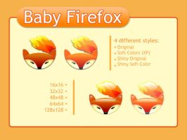 Baby Firefox by y-cubed