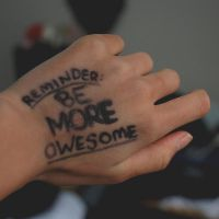 reminder: be more awesome by LadyPestilence